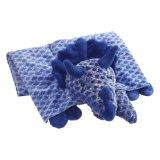 Original My Pillow Pets Dinosaur Blanket Blue