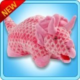 New My Pillow Pets Pink Dino