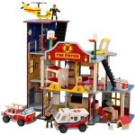 click here to buy KidKraft Deluxe Fire Station Set online