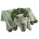 Original My Pillow Pets Dinosaur Blanket Green
