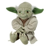 Star Clone Wars Pillow Yoda Plush Doll
