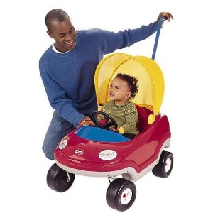 Little Tikes Deluxe Cozy Convertible Car