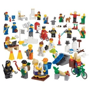 Lego Miniature Figure set