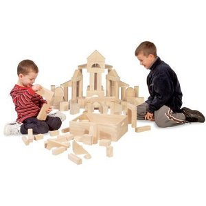 click here to buy Melissa & Doug 60 Piece Blocks