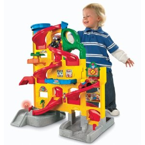 click here to buy the Little People Wheelies Stand N Play Rampway