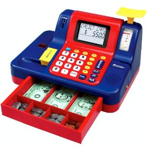click here to buy the Learning Resources Teaching Cash Register