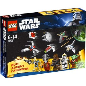 click here to buy the Lego 2011 Advent Calendar