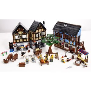 click here to buy Lego Castle Medieval Market Village