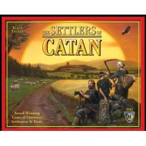 Click here to buy the Settlers of Catan board game