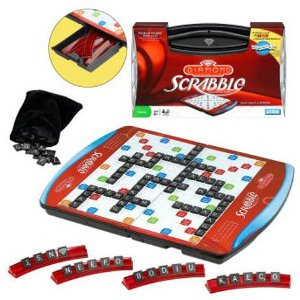 The bestselling Scrabble boardgame