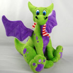 "Carla Morrow is pleased to announce the launch of ""Little Wings Baby Dragon"" Plushie toys STRETCH GOALS on Kickstarter"