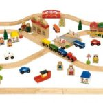 Wooden Trains and Train Tables